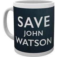 Sherlock Save John Watson Mug