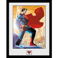 Superman Daily Planet Framed Collector Print - Superman Gifts