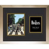 The Beatles Abbey Road Frame Mounted Photo