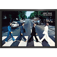 The Beatles Abbey Road Framed Maxi Poster - The Beatles Gifts