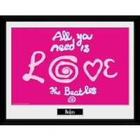 The Beatles All You Need Is Love Framed Collector Print - Beatles Gifts