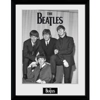 The Beatles Chair Framed Collector Print - Beatles Gifts