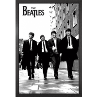 The Beatles In London Framed Maxi Poster - London Gifts