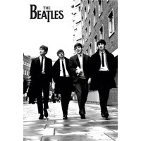 The Beatles In London Maxi Poster - London Gifts