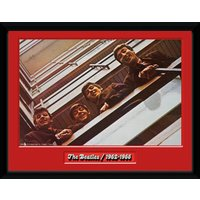 The Beatles Red Album Framed Collector Print - Beatles Gifts