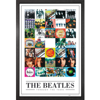 The Beatles Through the Years Framed Maxi Poster - The Beatles Gifts