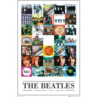 The Beatles Through the Years Maxi Poster - The Beatles Gifts