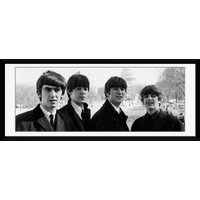 The Beatles White House Framed Collector Print - Beatles Gifts