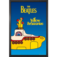 The Beatles Yellow Submarine Cover Framed Maxi Poster - The Beatles Gifts