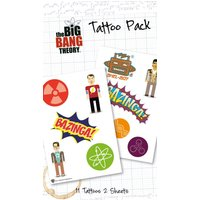 The Big Bang Theory Bazinga Tattoo Pack - The Big Bang Theory Gifts