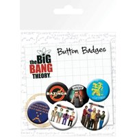 The Big Bang Theory Character Icons Badge Pack - The Big Bang Theory Gifts