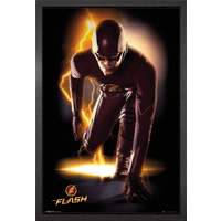 The Flash Speed Framed Maxi Poster