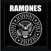 The Ramones Seal Framed Album Print - Ramones Gifts