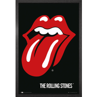 The Rolling Stones Lips Framed Maxi Poster - Rolling Stones Gifts