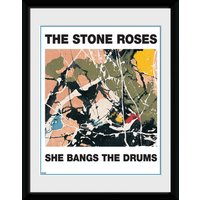 The Stone Roses She Bangs The Drums Framed Collector Print - Drums Gifts