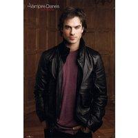 The Vampire Diaries Damon Maxi Poster - Vampire Gifts
