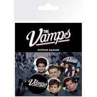 The Vamps Mix Badge Pack - The Vamps Gifts