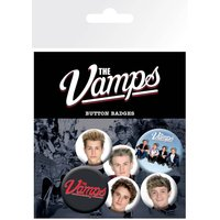 The Vamps Studio Badge Pack - The Vamps Gifts
