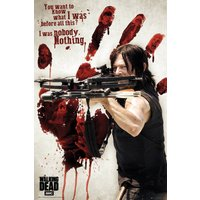 The Walking Dead Bloody Hand Daryl Maxi Poster - Horror Gifts