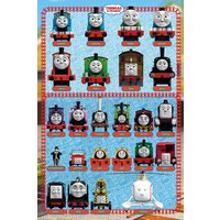 Thomas and Friends Characters Maxi Poster - Thomas And Friends Gifts