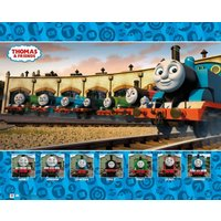Thomas And Friends Group Mini Poster - Thomas And Friends Gifts