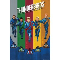 Thunderbirds Are Go Team Maxi Poster