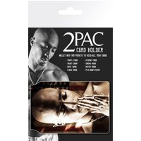 Tupac Flag Travel Pass Card Holder - Tupac Gifts