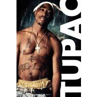 Tupac Rain Maxi Poster - Tupac Gifts