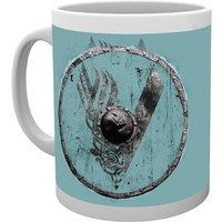 Vikings Blue V Mug - Vikings Gifts