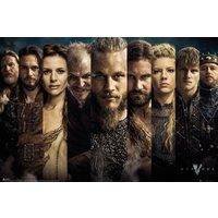 Vikings Grid Maxi Poster - Vikings Gifts