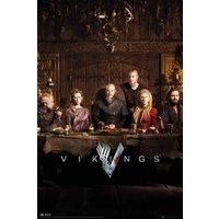 Vikings Table Maxi Poster - Vikings Gifts