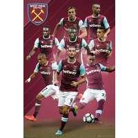 West Ham Players 16/17 Maxi Poster - West Ham Gifts