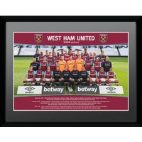 West Ham United Team Photo 16/17 Collector Print - West Ham Gifts