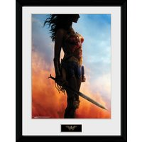 Wonder Woman Stand Collector Print