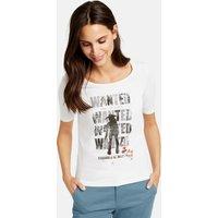 Statement-Shirt Weiss XL  Mindestbestellwert von 29 € erforderlich