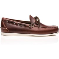 Camp Moc Decker Pull Up Leather Dark Brown