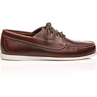 Camp Moc Jackman Pull Up Leather Dark Brown
