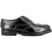 Albany Oxford Brogue Black Leather