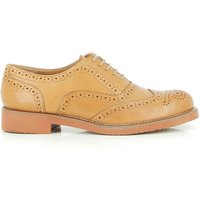 Albany Oxford Brogue Tan Leather