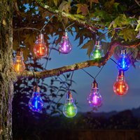 Click to view product details and reviews for Solar Neonesque Light Bulb Fairy Lights.