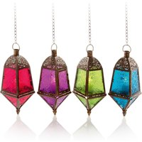 Click to view product details and reviews for 29cm Moroccan Hanging Lantern.