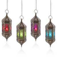 Click to view product details and reviews for 37cm Hanging Moroccan Indian Styled Lantern.