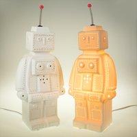 3D Ceramic Lamp Robot