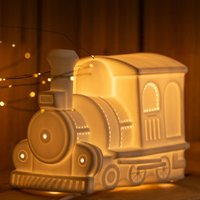 Click to view product details and reviews for 3d Ceramic Lamp Train.