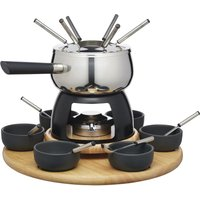 Click to view product details and reviews for Deluxe 6 Person Fondue Set By Artesa.