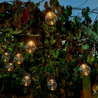 Click to view product details and reviews for Auraglow Solar Festoon Lights Clear.