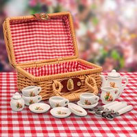 Bear Family Miniature Tea Set