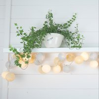 Click to view product details and reviews for Cable And Cotton Glow Fairy Lights 20 Led.