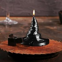 Click to view product details and reviews for Halloween Witches Hat Candle.