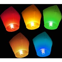 Click to view product details and reviews for Chinese Flying Lanterns Mixed 10 Pack.